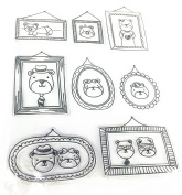 Bear Family Photos Stamp Clear Rubber Stamp For DIY Scrapbooking