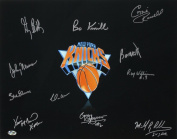 New York Knicks Greats Signed 16x20 Photo - 11 Total Signatures! - Cazzie Russell, Bo Kimble, Dick Barnett, etc.