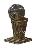 NBA Basketball Larry O' Brien Trophy Lapel Pin Licenced Product