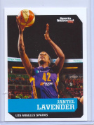 JANTEL LAVENDER LOS ANGELES SPARKS 2016 SPORTS ILLUSTRATED CARD #594! 1 OF 9 !
