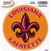 Louisiana Lafayette Ragin Cajuns Fleur De Lis Logo Decal - 13cm x 13cm