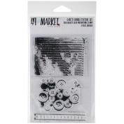 49 & Market Clear Stamps 10cm x 15cm -Gabi's Grunge Texture
