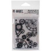 49 & Market Clear Stamps 7.6cm x 10cm -Steam Punk Stylin