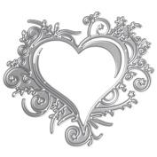 JUA PORROR Heart Lace Cutting Dies Stencils Scrapbook Album Embossing Card DIY Craft Decor