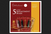Celebrations Replacement Bulbs 6 V Assorted Colours