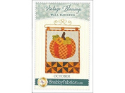 Shabby Fabrics Vintage Blessings Oct Wall Qlt Ptrn