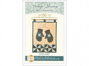 Shabby Fabrics Vintage Blessings Jan Wall Qlt Ptrn