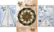 Bundle of Jewel Box Gem Five and Ten (5 & 10), and Moroccan Tile Quilt Pattern
