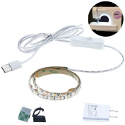 Bonlux Sewing Machine LED Light Kit 5V USB Flexible Machine Working LED Strip Light with ON/OFF Switch - Fits All Sewing Machines