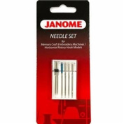 Assorted Needle 5 Pack Set #200343004 For Janome sewing machines