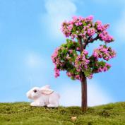 ALCYONEUS Miniature Tree Fairy Garden Decor DIY Craft Ornament Dollhouse Plant Pot Figurine
