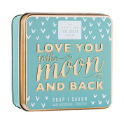 Scottish Fine Soaps Love You To The Moon & Back Soap Tin 100g