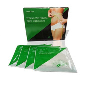 Ultimate Toning and Firming Body Applicator, Body Wrap, 4 Wraps. New Improved Formula with over 20% more Active Ingredients