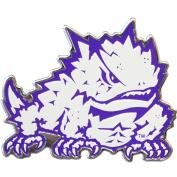 Texas Christian University TCU Horned Frogs Colour Frog Aluminium Car Auto Emblem