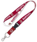 Harvard Crimson NCAA 2.5cm Wide Detachable Lanyard Keychain