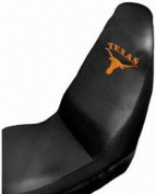 Texas Longhorns Auto Seat Cover Universal Fit Set of Two