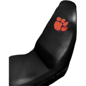 Clemson Tigers Auto Seat Cover Universal Fit Set of Two