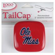 Mississippi Ole Miss Rebels Vinyl Hitch Receiver Cap - Red
