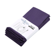 Sherwood Polyester Cotton Dinner Napkins 15''x 15'' (40 x 40cm) Lavender Durable Hotel Quality Table Cloth for Hotel, Restaurant, Wedding Set of 6