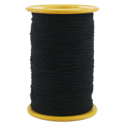 Ogrmar Black Elastic Thread 547 Yard 0.5mm Thickness (1 Roll)