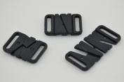 Plastic Bikini Bra Clips Hooks Swimwear Clicker Bikini Accessory Tape Closure Hook & Clasp Fasteners 18mm Pack of 100Sets