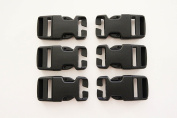 Hank's Surplus Military Replacement Molle Backpack Pack Quick Connect Snap Buckles 2.5cm