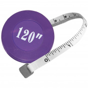 Sullivan's 300cm Retractable Measuring Tape Inch and Metric Markings