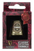 Guinness Metal Thimble With Classic Collection Label Design