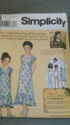 UNCUT Simplicity Patty Reed Designs Mother Daughter Dress sz 7-14 and 8-18, 5141