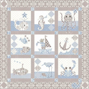 Bunny Hill Designs Sailor Baby Quilt Pattern