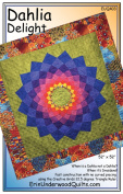 Dahlia Delight Quilt Pattern by Erin Underwood Quilts