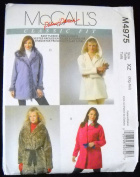 Mccalls Pattern #M4975 Misses Lined & Unlined Jackets & Flower Size (S-M-L) supplier:sew303123