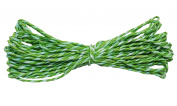 7 Yards Paper Thread DIY Twisted Paper Raffia Craft Favour Gift Wrapping Twine Green Rope Thread Scrapbooks Invitation Flower Decoration