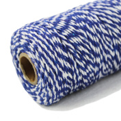 Bakers Twine 100 Yard Cotton String 2 Ply Craft Twine for Packing Gardening and Wrapping Gifts 1 Roll