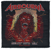 Airbourne Breakin outta hell sew-on Patch