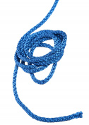 Pink & Blue Double Twisted Braided Crape Cord Rope Bright Colours Craft Jewellery Soutache Pipping (Blue