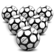 GoSports Futsal Ball with Premium Pump - Regulation Size and Weight (Choose Single Ball or Six Pack with Mesh Bag