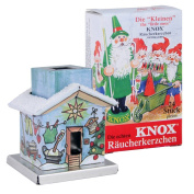 """KNOX Incense Smoker House """"The little One - Washhouse"""" and Incense Cones - Mix"""