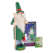 KNOX Incense Smoker with 24 incense cones and matches