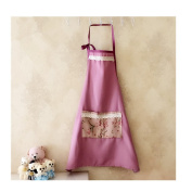 Saint Kaiko Cotton Linen Apron for Women with Pockets Cooking Apron Kitchen Apron Apron Bib Apron Restaurant Baking Apron for Adult