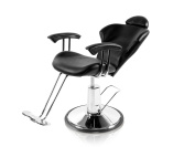 Styling Chair with a Reclining Back and Adjustable Headrest