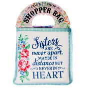 History & Heraldry Shopper Bag Sisters Are Never Apart... Cook Shop 0002