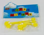 Nappi Nippa Nappy Fastener - Yellow