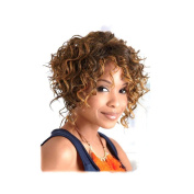 Tonake Short Wigs for Black Female Small Kinky Curly Hair Wig Heat Resistant Wigs