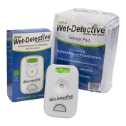 Wet Detective Incontinence & Bedwetting Pad Alarm System with 1 Sensor Pad