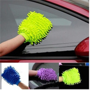 Philna12 Double-sided Coral Wash Mitt Washing Tool Cloth Brush Home Furnish Clean Gloves