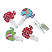 Wooden Pegs/10 Pieces/Elephant