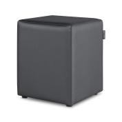 Puff Cube Leatherette Indoor Happers (Different Colours) Único grey