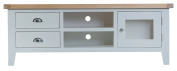 Hartwell Grey Painted Large TV Unit