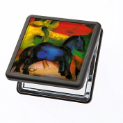 Compact Mirror Marc – Blue horse from Artis Vivendi